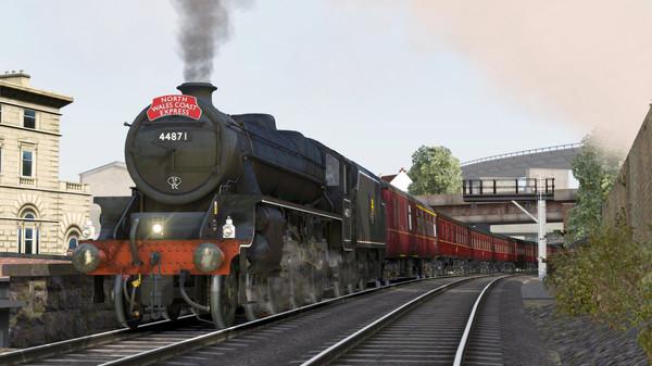 скриншот Train Simulator: LMS Stanier Class 5 'Black Five' Steam Loco Add-On 0