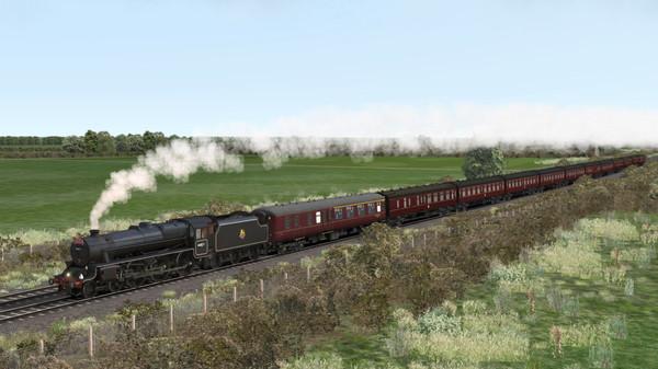 скриншот Train Simulator: LMS Stanier Class 5 'Black Five' Steam Loco Add-On 3