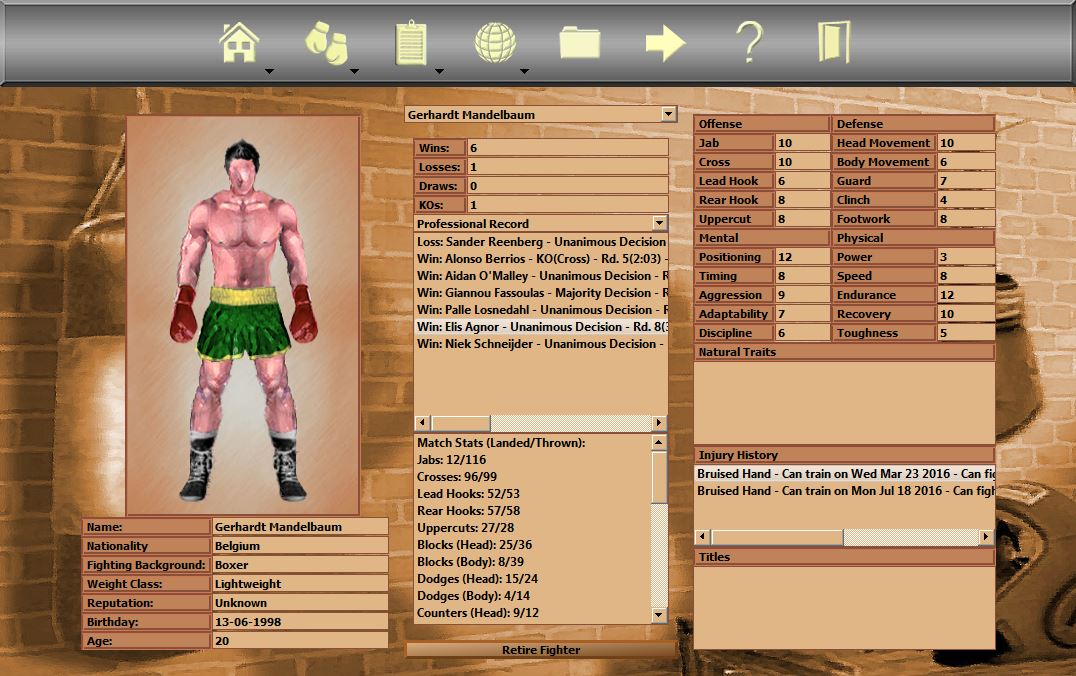 What's On Steam - World Boxing Manager