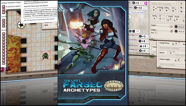 Fantasy Grounds - The Last Parsec: Archetypes (Savage Worlds
