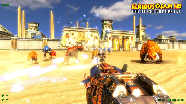 Screenshot of Serious Sam Fusion 2017 (beta)
