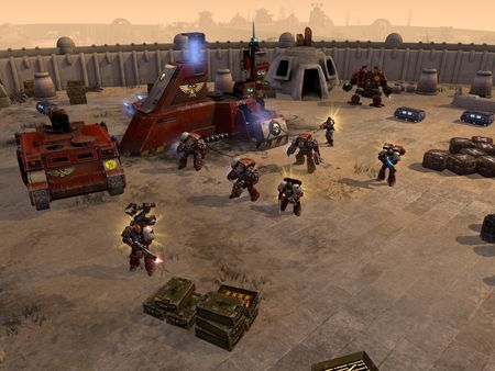 скриншот Warhammer 40,000: Dawn of War II - Retribution Space Marines Race Pack 0