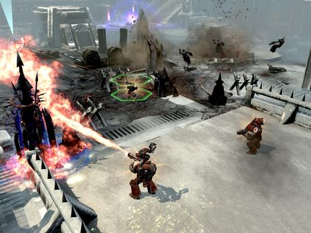 скриншот Warhammer 40,000: Dawn of War II - Retribution Space Marines Race Pack 3