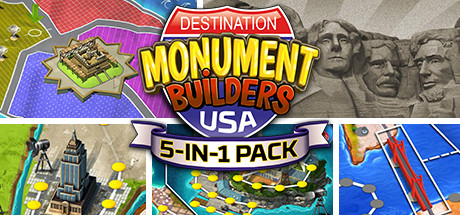 Купить 5-in-1 Pack - Monument Builders: Destination USA