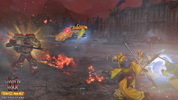 скриншот Dawn of War II: Retribution  The Last Standalone 2