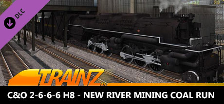 Trainz 2019 DLC: C&O 2-6-6-6 H8 - New River Mining Coal Run on Steam