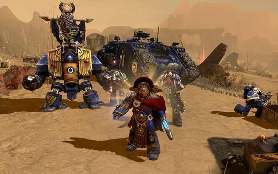 скриншот Warhammer 40,000: Dawn of War II Ultramarines Pack 1