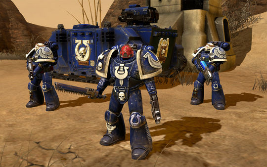скриншот Warhammer 40,000: Dawn of War II Ultramarines Pack 4