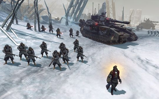 скриншот Warhammer 40,000: Dawn of War II: Retribution - Death Korps of Krieg Skin Pack 3