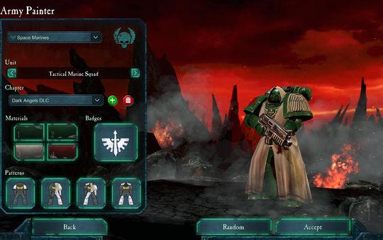 скриншот Warhammer 40,000: Dawn of War II: Retribution: Dark Angels Pack 1