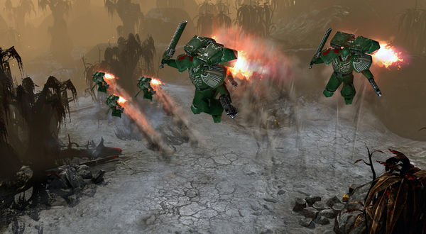 скриншот Warhammer 40,000: Dawn of War II: Retribution: Dark Angels Pack 3