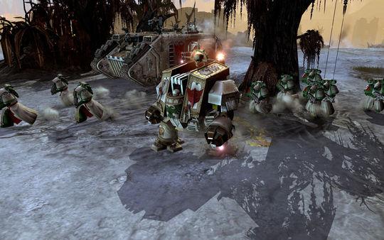 скриншот Warhammer 40,000: Dawn of War II: Retribution: Dark Angels Pack 0