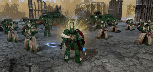 скриншот Warhammer 40,000: Dawn of War II: Retribution: Dark Angels Pack 2