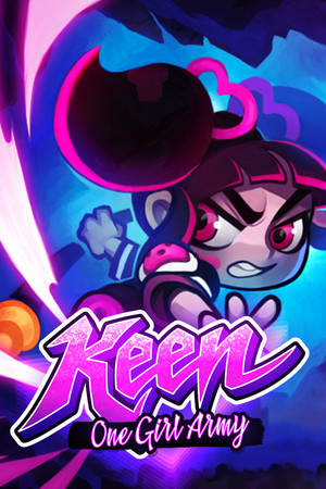 Keen: One Girl Army poster image on Steam Backlog