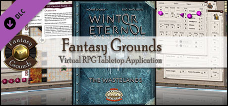 Fantasy Grounds - Winter Eternal Adventure Guide: The wastelands (Savage Worlds)