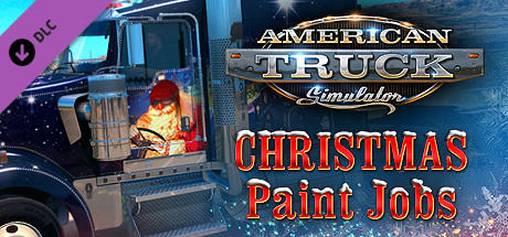 American Truck Simulator Christmas Paint Jobs Pack