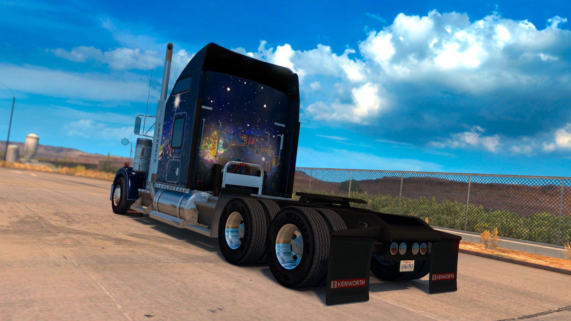 american truck simulator christmas paint jobs pack on steam. Black Bedroom Furniture Sets. Home Design Ideas