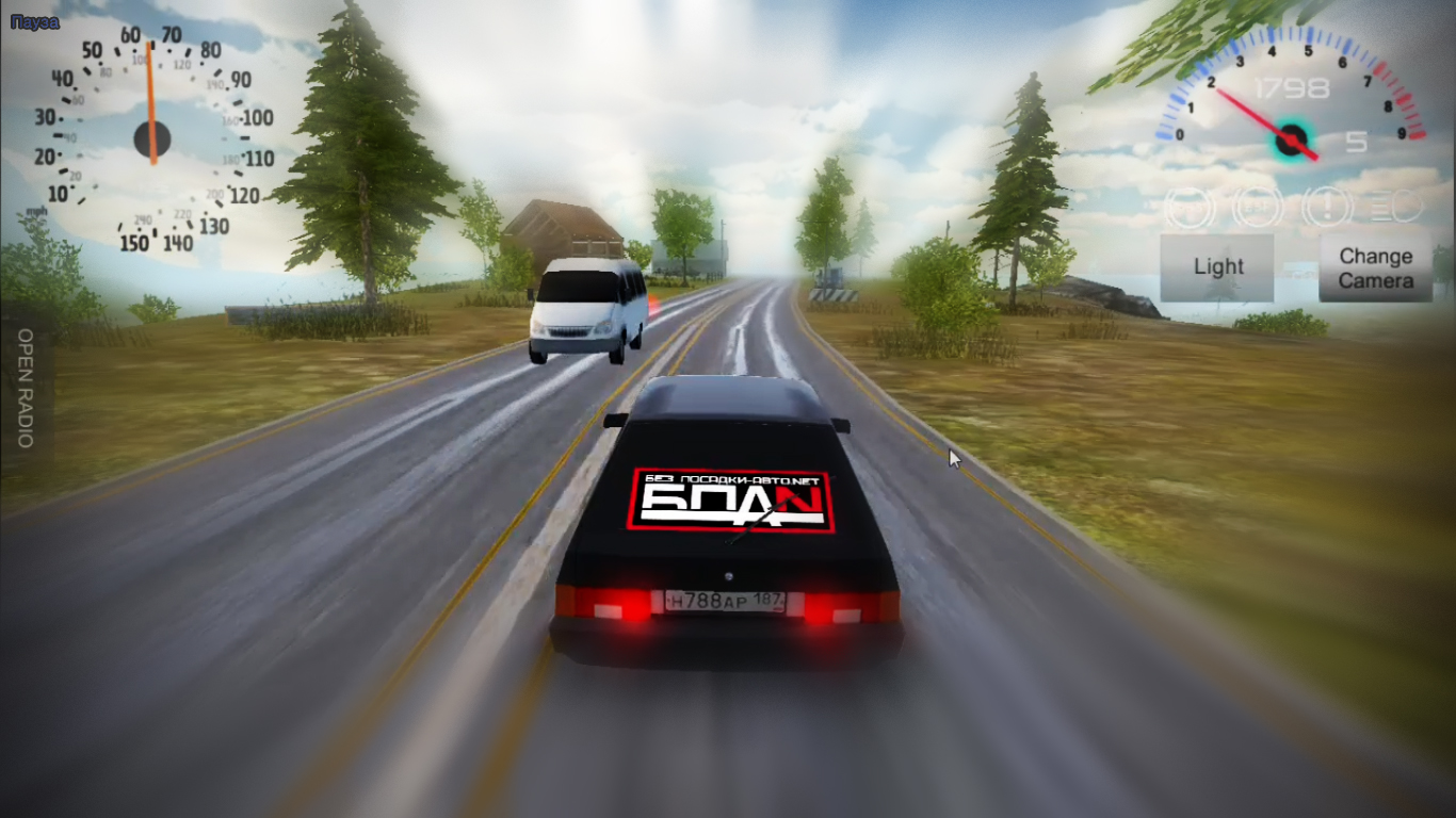 Car Driving Games >> Russian Car Driver