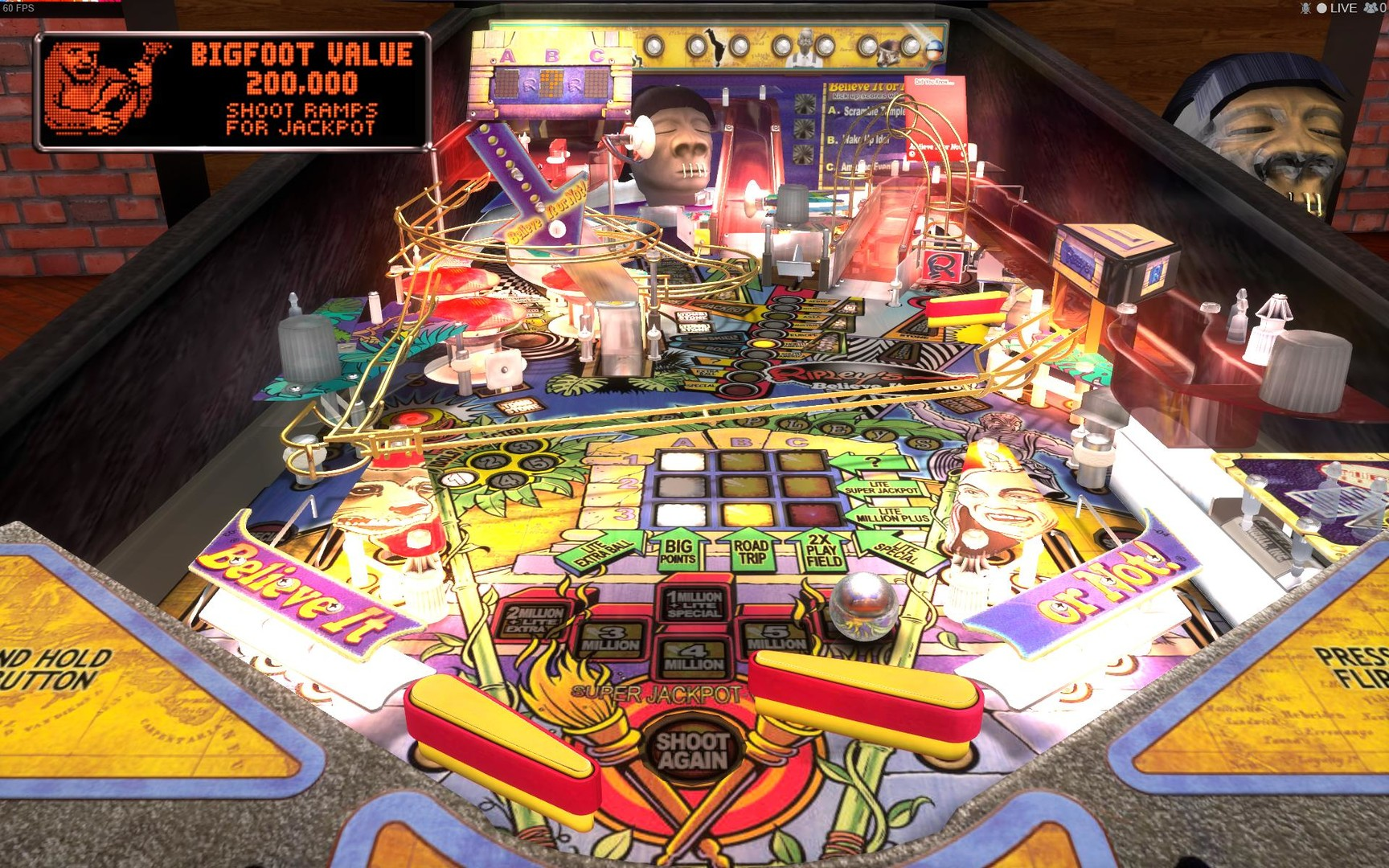 Stern Pinball Arcade: Ripley's Believe It Or Not!