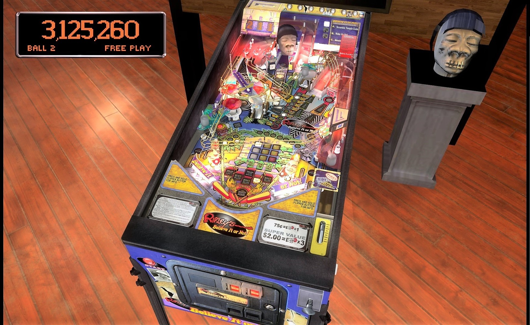 Stern Pinball Arcade: Ripley's Believe It Or Not!