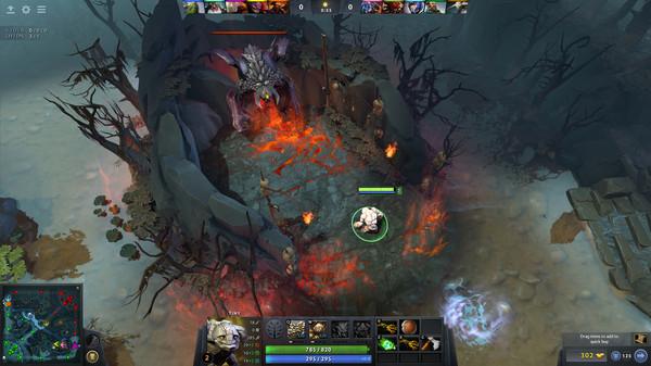 скриншот DotA 2 5