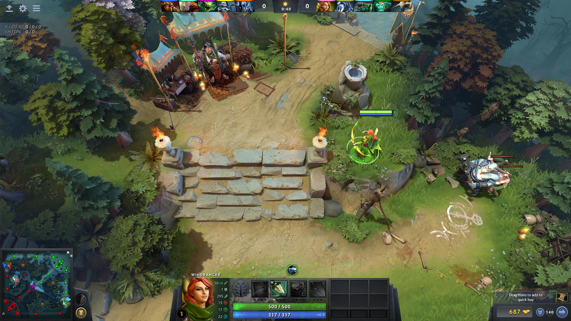 Скриншот игры Случайный аккаунт Dota 2 с инвентарем [от 10 до 999 штук]