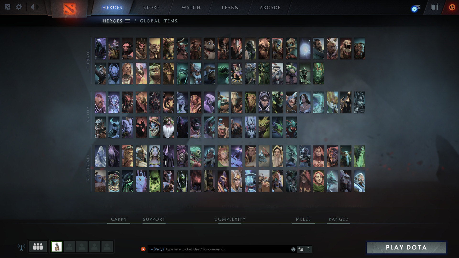 is dota 2 matchmaking down