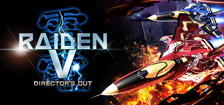 Raiden V: Director's Cut cover art