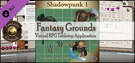 Fantasy Grounds - Shadowpunk (Token Pack)
