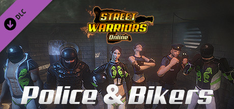 Street Warriors Online: Police & Bikers (Skin Pack)