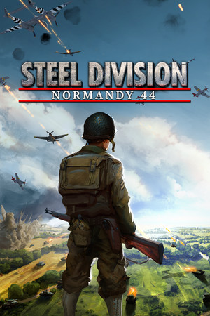 Steel Division: Normandy 44 poster image on Steam Backlog