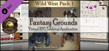 Fantasy Grounds - Wild West Pack 1 (Token Pack)