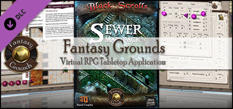 Fantasy Grounds - Sewer (Map Pack)
