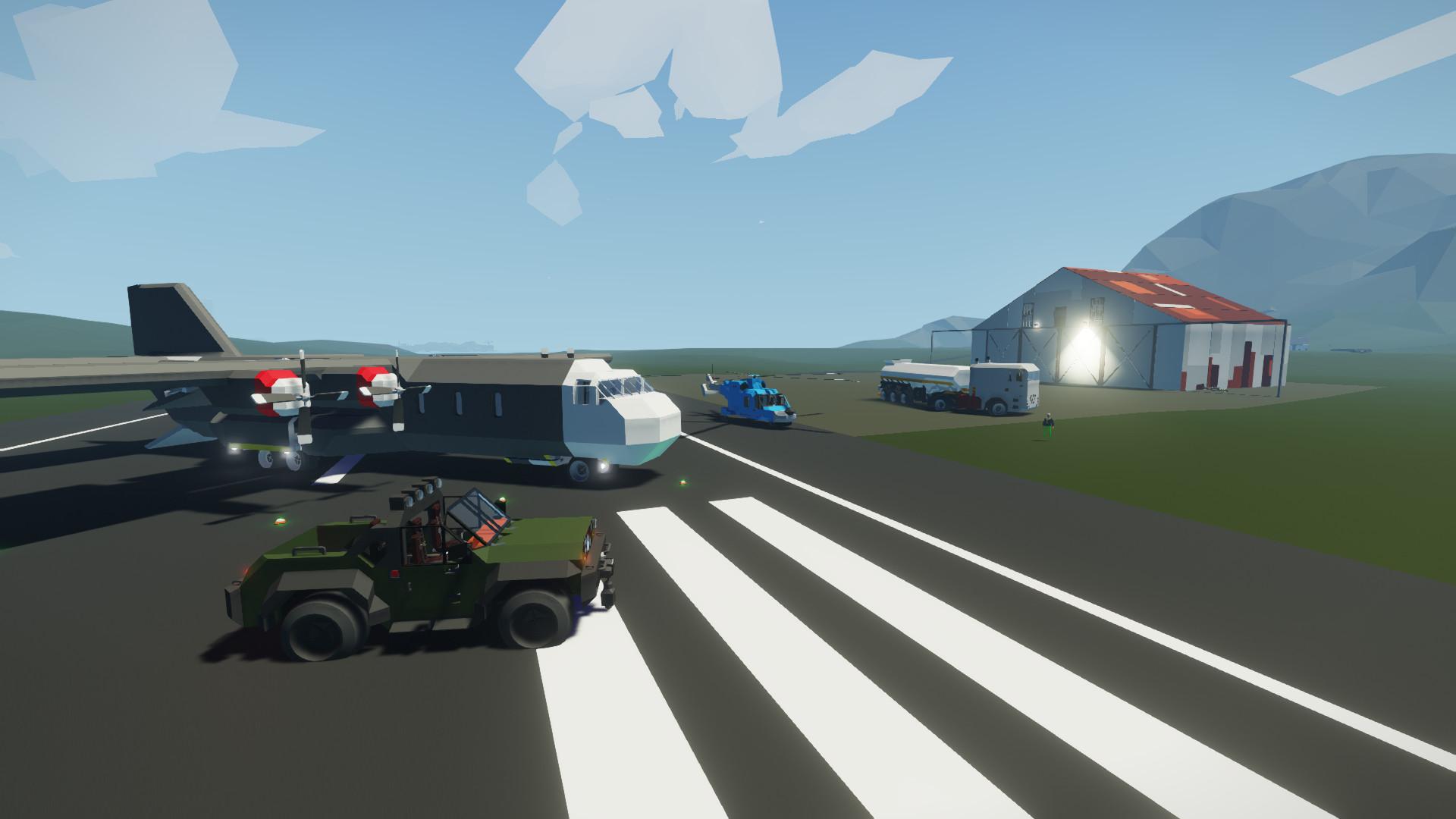 Скриншот Stormworks Build and Rescue v0.7.17 скачать торрент бесплатно