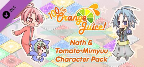 100% Orange Juice Nath & Tomato Mimyuu Character Pack