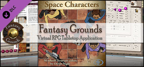 Fantasy Grounds - Space Characters (Token Pack)