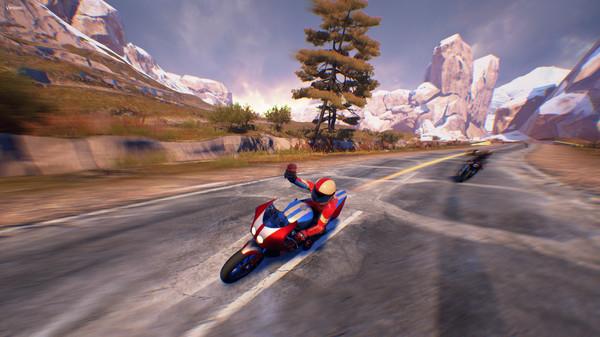 скриншот Moto Racer 4 - Sliced Peak 1