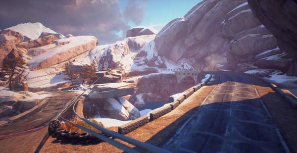 скриншот Moto Racer 4 - Sliced Peak 3