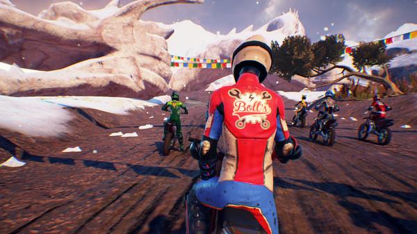 скриншот Moto Racer 4 - Sliced Peak 2