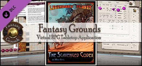 Fantasy Grounds - Legendary Planet: The Scavenged Codex (5E)