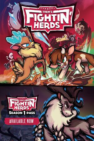 Them's Fightin' Herds poster image on Steam Backlog