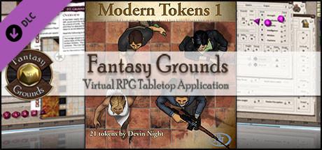 Fantasy Grounds - Modern 1 (Token Pack)