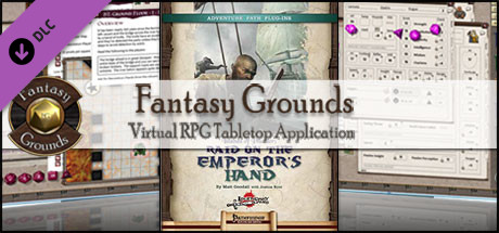 Fantasy Grounds - Islands of Plunder: Raid on the Emperor's Hand (PFRPG)