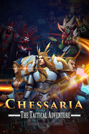Chessaria: The Tactical Adventure (Chess) poster image on Steam Backlog