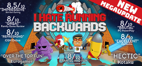 I Hate Running Backwards banner