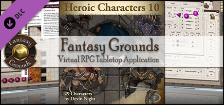 Fantasy Grounds - Heroic Characters 10 (Token Pack)