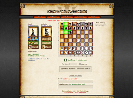 Chess: King of Crowns Chess Online