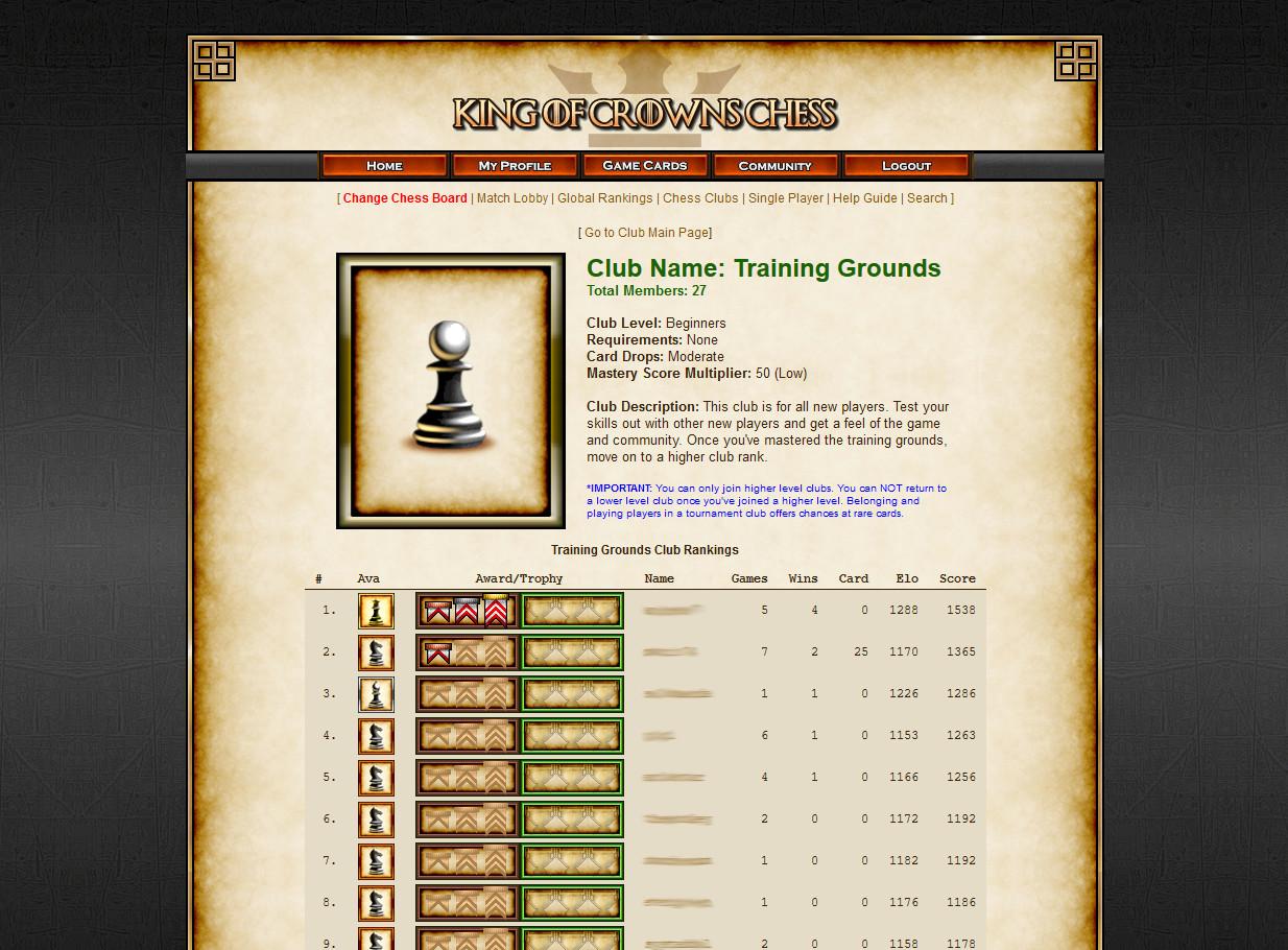 Online-Schach-Matchmaking