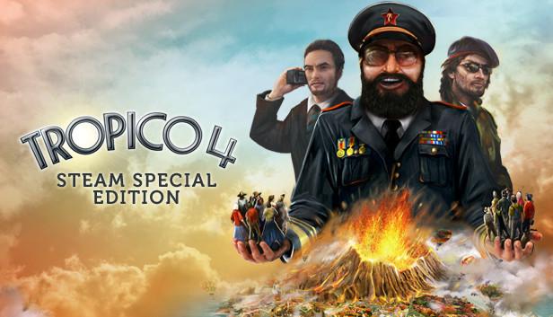 Tropico 4 on steam.