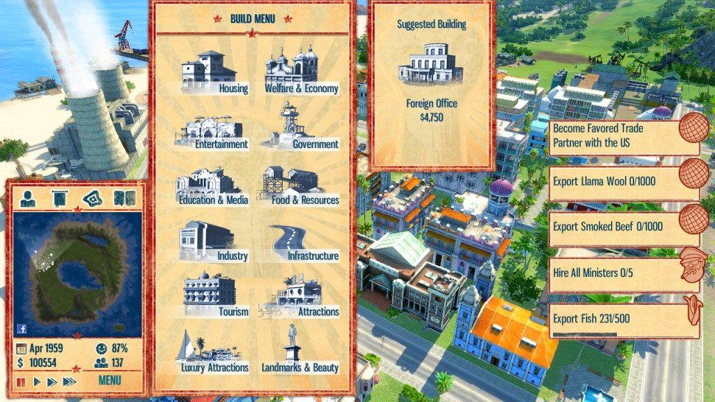 Tropico 4 + Complete DLC Pack screenshot 2